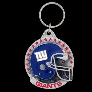 New York Giants NFL Pewter Helmet Key Ring  Sports
