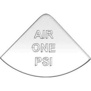 Stainless Steel Air One PSI Emblem International Truck
