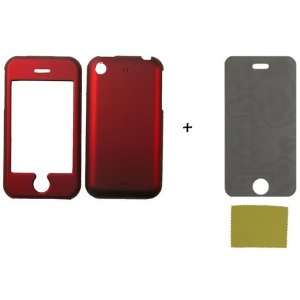 2G RED FACEPLATE *PLUS* PRIVACY SCREEN PROTECTOR