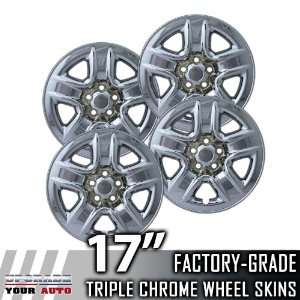 2006 2010 Toyota RAV 4 17 Chrome Wheel Skins Automotive