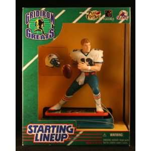 DOLPHINS 1997 NFL GRIDIRON GREATS Starting Lineup Deluxe 6 Inch Figure