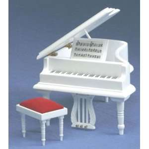Baby Grand Piano With Stool Toys & Games