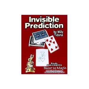 Invisible Prediction Bazar Cards Magic Tricks Visual
