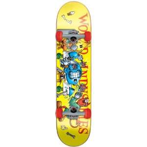 World Industries Slice and Dice Mid Complete Skateboard (7.37 Inch