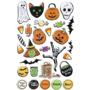 Trick Or Treat Epoxy Stickers Arts, Crafts & Sewing
