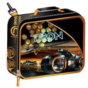 TRON Lunch bag box kit   Black with Orange Trimming