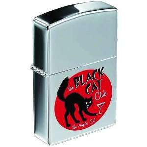 Criminal Macabre Black Cat Club Zippo Lighter