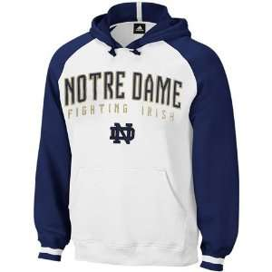 adidas Notre Dame Fighting Irish White Dream Hoody Sweatshirt