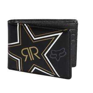 Fox Racing Rockstar Golden Wallet   Black Automotive