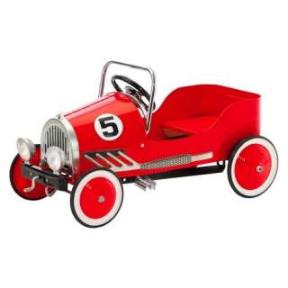 Morgan Cycle Red Retro Pedal Car Riding Toy