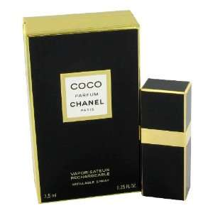 Coco by Chanel for Women, 1/4 oz Pure Perfume Spray
