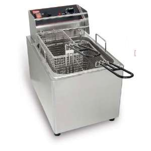 Cecilware EL15 Commercial Electric Deep Fryer 120V