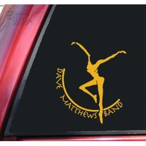 Dave Matthews Band Vinyl Decal Sticker   Mustard
