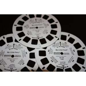 Three View Master Reels My Little Pony (Reels A, B, and C