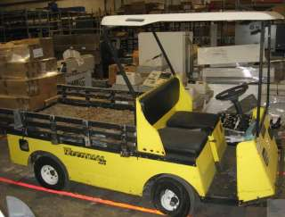EZ GO Textron Industrial 875E XI875 Electric Utility Vehicle Golf Cart