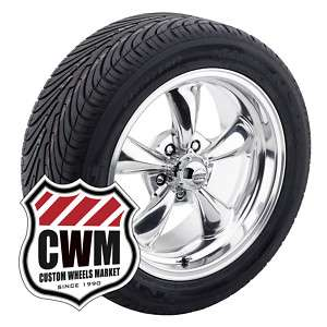 17x7/17x9 Polished Aluminum Wheels Rims Tires for Chevy El Camino 1979